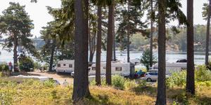 I flera år har ägarna till Singö camping velat sälja anläggningen. En spekulant har nyligen dragit sig ur affären.
