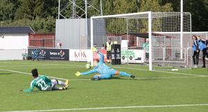 Kristian Andersens 1–0-mål.