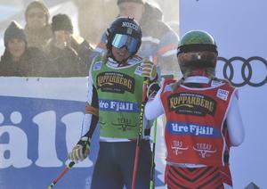 Sandra Näslund, besviken efter B-finalen.