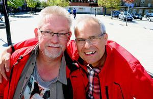 Leif Jonsson och Peter Gunnarsson ser fram mot fredagen och årets upplaga av Kulturnatten i Ånge.