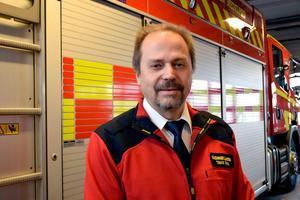Tomas Öhrn, räddningschef för räddningstjänsten i Medelpad.