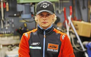 Joakim Grelsson imponerade direkt när SM i enduro startade i Östhammar.