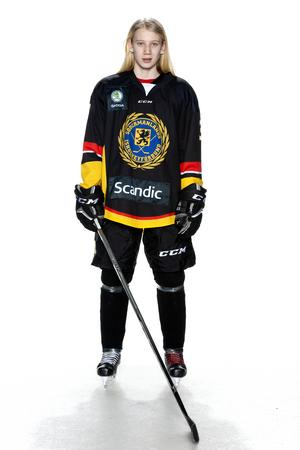 Foto: Lars-Åke Johansson/Södermanlands  Ishockeyförbund. Pusle Dyring Andersen