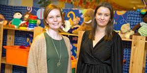 Det kommer bland annat att erbjudas aktiviteter för barn när Nina Bengtsson och Cecilia Granath drar församlingens senaste projekt.