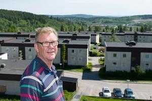 Dan Söderholm,  ordförande i brf Bosvedjan.Foto: Håkan Humla
