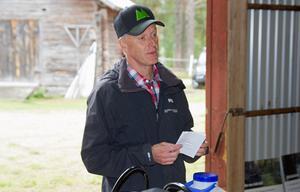 Mellanskogs brandsamordnare Lars Nilsson berättade hur efterarbetet lagts upp