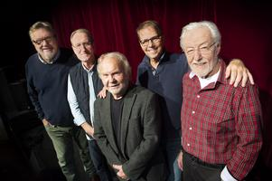 Jonny Cutz 2018: Göran Ögren, Ove Lundberg, Lars Johansson, Lasse Svantesson och Sven-David Höglund. Saknas på bilden gör Matts Danielsson.