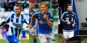 Tre exempel på spelare som Giffarna tjänat pengar på via vidareförsäljningar: Ari Skúlason, Joakim Nilsson och Robert Lundström
