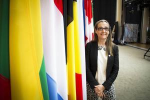 Trots att hon själv åker ut är Bodil Valero ganska nöjd med valreslutatet, där hennes gröna grupp går starkt framåt på europeisk nivå.