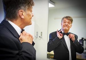 Ulf Adolphson gör sin första roll i Munktorpsteatern, vanligtvis spelar han på Hagateatern men har gjort gästspel i andra teatergrupper .Foto: Lennye Osbeck