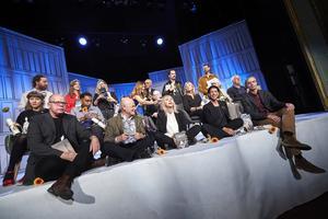 Här är de lyckliga nominerade. Bild: TT