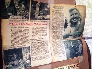 Margit vann en tävling där Filmjournalen efterlyste
