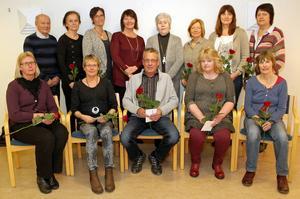 De fick utmärkelse för 25 år i kommunens tjänst.
