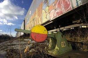 För tio år sedan fanns fortfarande viss godstrafik kvar på sträckan mellan Edsbyn och Bollnäs.