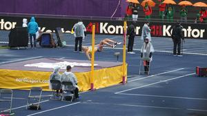 Bianca Salming klarade 1,78 i sista försöket.