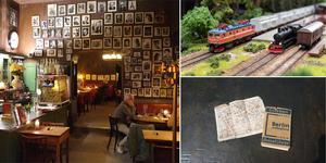 Astrid Lindén och Clas Thor tog tåget till Berlin, där de gick i Hjalmar Bergmans fotspår. Foto: Astrid Lindén och Clas Thor / TT (Bilden är ett montage)