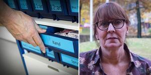 Karin Stikå Mjöberg är fortsatt orolig och meddelade att stabsläget fortsätter över helgen.  Foto: TT och Rasmus Karlsson, DT