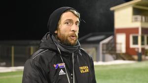 Nye FV-tränaren Mackenzie Ward.