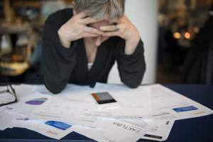 Vänstern målar nu upp en bild av att landets företag står i kollektiv skuld, skriver artikelförfattarna. Foto: Jessica Gow / TT.