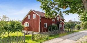 Boningshuset i Uggelfors är hela 190 kvadratmeter stort. Foto: Fotograf Patrik Persson