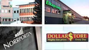 Valmet, Elkapsling, Norrporten och Dollarstore bidrar till statskassan med miljoner i bolagsskatt.