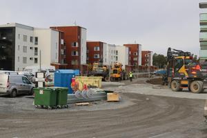 Byggboomen på Stadsdel Norr är ännu inte i mål.