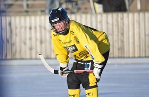 Gustav Eriksson lämnar KIS Bandy för spel med AIK. Foto: David Eriksson