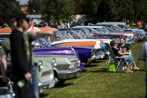För bilälskare är midsommarhelgen tätt förknippad med Junsele Midsummer Meet.
