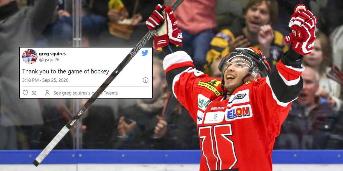 """Amerikanen tackade för sig – nu hyllar han Örebro Hockey: """"Bästa tiden i min karriär"""""""