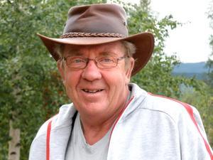 Mats-Ola Eriksson, Bjurvalla, hittade blåsippor i januari.