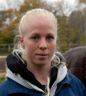 Sophie Ställberg är travtränare på Romme sedan 2012.