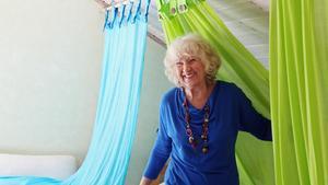 Lena Kristina Tuulse fyller 75 år 29 mars, men är fortfarande aktiv som gästlärare.