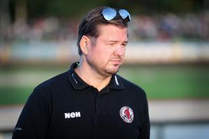 Peter Johansson var besviken efter matchen med samtidigt stolt över laget.
