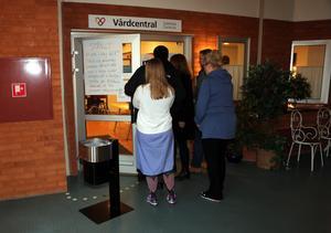 Personal informerades på torsdagsmorgonen om den begärda konkursen.