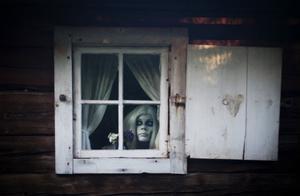 Den som är uppmärksam kan få en glimt av fäbodvallens eget spöke, Elin.