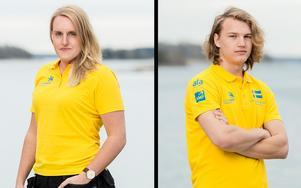 Johanna Hansson och Joel Lindh vann yrkes-SM 2016 som dekoratör respektive CNC-operatör. Foto: World skills Sweden