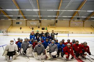 Grupp 2, de som är födda mellan 07-08 har ispass.