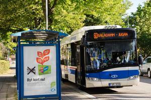 Ska det vara avgiftsfritt att ta bussen?Foto: Sala Allehandas arkiv