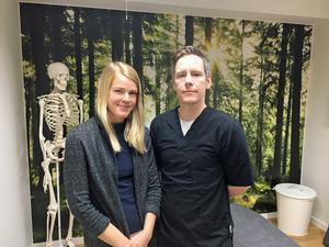 Sofie Eriksson och Mikael Malm, Härnösand.