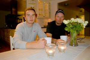 Förra helgens jakt i Gustafs fick ett sorgligt slut för Daniel och Jan-Erik Hillert vars hund Qita blev dödad av vildsvin.