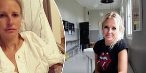 För knappt två veckor sedan opererade Maria G Nilsson bort hemorrojder som hon hade plågats av en längre tid.
