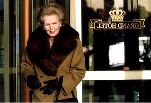 Margret Thatcher.Björn Larsson Ask/TT