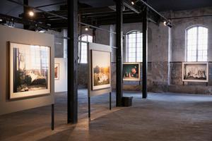 Så här brukar det normalt kunna se ut i Meken. Här en bild från Helena Blomqvists utställning förra sommaren.