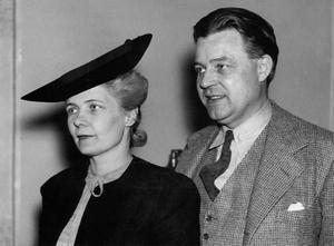 Makarna Alva Myrdal och Gunnar Myrdal 1940, författarna till
