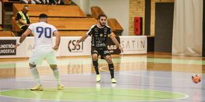 Mirza Turan i matchen mot Nacka Juniors.