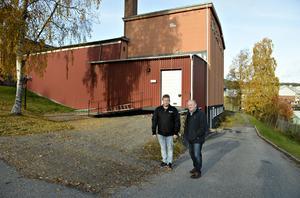 Tommy Laurell enhetschef och Arbetshandledare Göran Hägglund och enhetschef Tommy Laurell tycker att det känns för jäkligt.