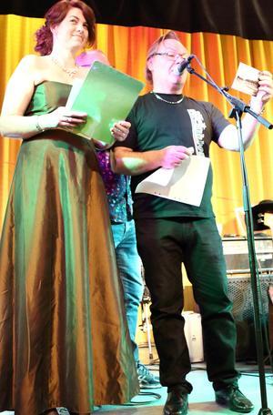 Eva-Marie Bäcklund och Nisse Sundström. Fotograf: Joacim Nilsson