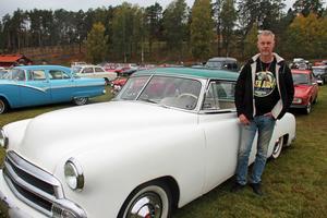 Per Sjöberg från Gävle har ägt sin Chevrolet sedan ett par år tillbaka.