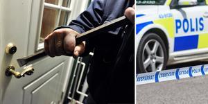 Ett inbrott och ett inbrottsförsök har polisanmälts i Njurunda. Bilder: TT