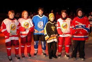 All star team från Lidström cup 2011. Tre HSK:are kom med, Jesper Boqvist längst till vänster, Philip Norberg, tvåa från vänster och Lucas Bylin, tvåa från höger.